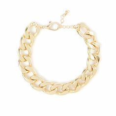 Chunky Chain Link Bracelet   Claire's