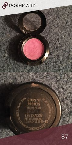 Mac stars 'n' rockets eyeshadow!! Lightly used eyeshadow with tons of product left!! MAC Cosmetics Makeup Eyeshadow