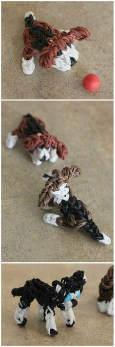 Aidan discovered Rainbow Loom dogs this week on Youtube, and he has been busy making beagle and husky puppies! They are sooooooo cute. As soon as he finished one, his younger brothers started asking for some, so he has made a whole litter. The difficulty level on these dogs is about the same as any …