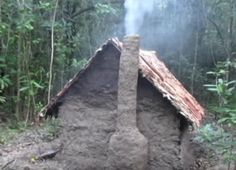 """Waddle and Daub Hut Video Homesteading  - The Homestead Survival .Com     """"Please Share This Pin"""""""