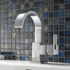 Delta Vero Single Hole bathroom Faucet with Metal Pop Up Drain & Reviews | Wayfair