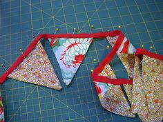 DIY Fabric Banners for Camping @Lisa Griffith  --> we should make for 2014 OCF