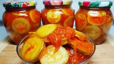 Zucchini, Fruit Salad, Recipies, Food And Drink, Stuffed Peppers, Canning, Vegetables, Youtube, Recipes