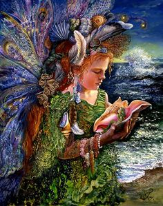 comber_fairy[1] | by Josephine Wall.