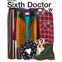 Inspired by Colin Baker as the Sixth Doctor on Doctor Who