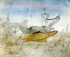 Alfred Otto Wolfgang Schulze - pintor y fotógrafo alemán que trabajó principalmente en Francia.- On lui fait une radio. Radios, Tachisme, Drawing Sketches, Drawings, Art Database, Abstract Art, Painting, Artwork, Prints
