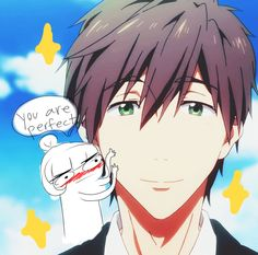 "LoL So many Makoto fangirls, wishing he was real. The friendzoned nice guys in real life must be all like, ""your Makoto's right here!! TT^TT"""