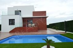 Costa Blanca,Superb triplex 180 m2 Villa for sale  Superb triplex (including the basement) 180 m2 Villa for sale, modern and luxury, with garden and private pool located on the Costa Blanca, near La Nucia and not far from Alacant, famous tourist and seaside center on the Spanish coast.