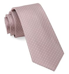 Mini Dots Ties - Mauve Stone | Ties, Bow Ties, and Pocket Squares | The Tie Bar
