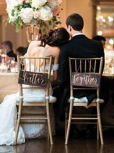 Decoração | Como decorar a cadeira dos noivos