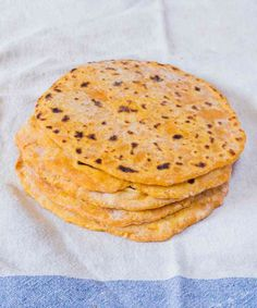 Vegan Sweet Potato Tortillas