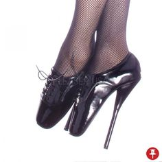 "Sexy Fetish 7"" High Heel Black Patent Ballet Shoes. Available in sizes 6 through 10 and 13 through 15. These shoes do not come in half sizes. All sizes in stock and ready to ship. Please, add a note to your payment what size you want. We offer free US Domestic Shipping. Many Thanks! SKU: Ballet-18 Black Pat. More at OrangeCluwbear.com! - $115.95 - Powered by Pin2Sell"