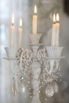 Shabby Chic  https://www.etsy.com/listing/169546719/vintage-5-light-candelabra-candle-holder?
