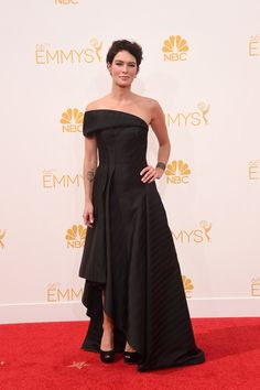 15 Most Glamorous Gowns at the Emmys 2014 Lena Headey in Rubin Singer