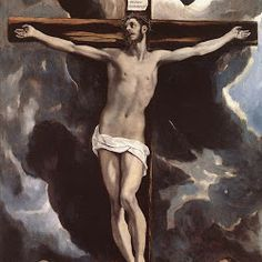 ElGreco, Christ on Cross adored by Donors 1585-90.jpg