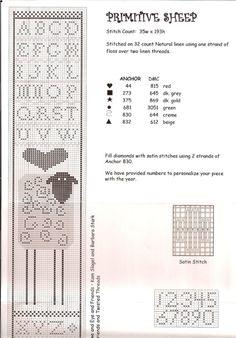 ru / Фото - EEF - mornela possibilities for tapestry crochet Sheep Cross Stitch, Just Cross Stitch, Cross Stitch Needles, Cross Stitch Alphabet, Cross Stitch Samplers, Cross Stitch Animals, Cross Stitch Charts, Cross Stitch Designs, Cross Stitching