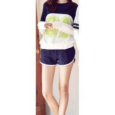 Cotton Short Suit  Check out www.fashionscrapbook.com for more #road / #gym gear!