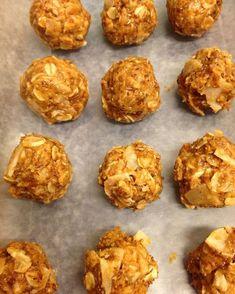 Cinnamon Peanut Butter Energy Balls from Santee Oils using doTERRA Essential Oils