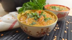 Slow Cooker Moroccan Spiced Red Lentil and Sweet Potato Stew - Colleen's Kitchen