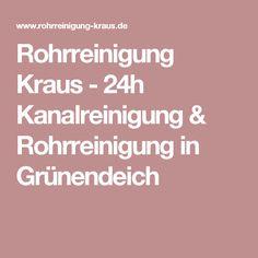 Rohrreinigung Kraus - 24h Kanalreinigung & Rohrreinigung in Grünendeich