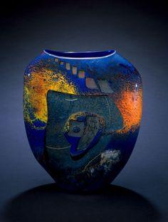Vases – Home Decor :     Stone Vessel, blown glass    -Read More –   - #Vases https://decorobject.com/decorative-objects/vases/vases-home-decor-stone-vessel-blown-glass/