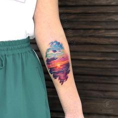 Search inspiration for a Realistic tattoo. Mini Tattoos, Cute Tattoos, Unique Tattoos, Beautiful Tattoos, Body Art Tattoos, Small Tattoos, Ocean Sleeve Tattoos, Wrist Tattoos, Tatoos