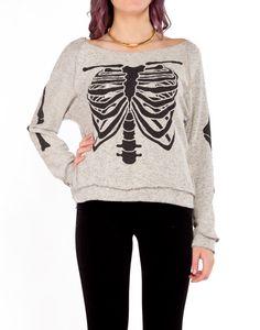 X-Ray Slashed Back - 2020AVE #sweaters