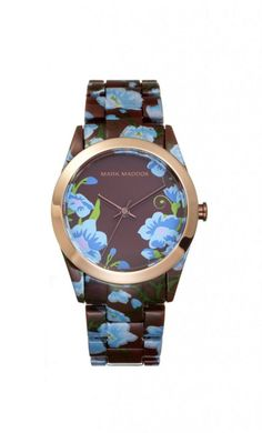 #funny kvetinkové hodinky  #wandelia #markmaddox #watch #watches #flower #flowers #blue #colour #colours #time Luxury Handbags, Wood Watch, Mini Bag, Fashion Brand, Vintage Ladies, Flower Colour, Funny Watch, Colours, Pearl Hair