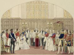 Christening of the Prince Alfred 6 September 1844