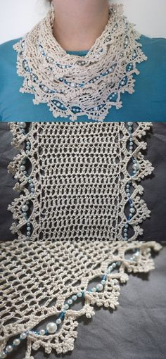 Beaded scarf Inspiration