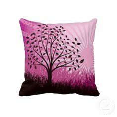 Purple Sunshine Pillow