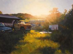 """Timothy Horn, """"Ode to Joy,"""" Oil on canvas18"""" x 24"""" 105th Annual Gold Medal Exhibition"""