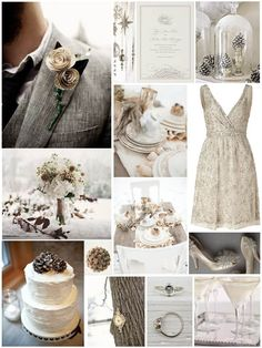 "Silver, latte and chocolate Winter Wedding Inspiration Board"" data-componentType=""MODAL_PIN Wedding Themes, Wedding Colors, Wedding Decorations, Yellow Wedding, Decor Wedding, Rustic Wedding, Our Wedding, Dream Wedding, Wedding Stuff"