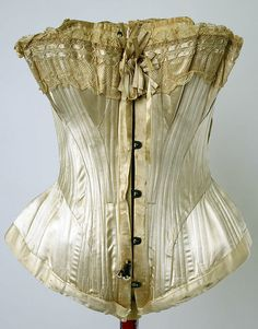 Wedding lingerie (image 3) | American | 1880 | silk, cotton | Metropolitan Museum of Art | Accession Number: 1979.331a–g