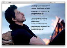 Looking ruggedly handsome in the new poster for his film Jab Tak Hai Jaan!
