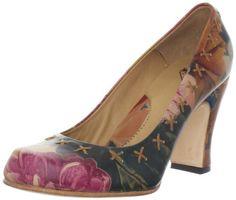 John Fluevog Women's Fortune Pump - designer shoes, handbags, jewelry, watches, and fashion accessories | endless.com