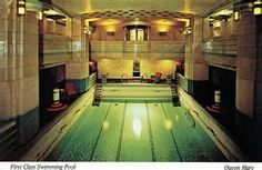 1000 images about ocean liner pools on pinterest ss - Queen mary swimming pool victoria ...