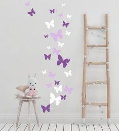 Butterfly Wall Stickers ~ Beautiful Butterfly Room Theme Idea!