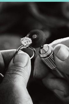 Tiffany & Co. diamond polishers Manek and Varsha Patel describe the magical process of polishing a diamond to perfection.