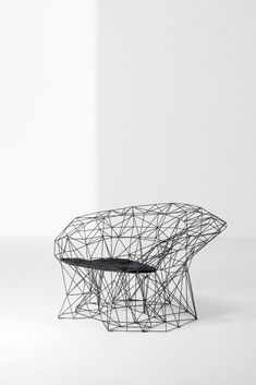 Shop the Filinea Armchair and more contemporary furniture designs by La Cividina at Haute Living. New Furniture, Furniture Design, 1950s Design, Door Accessories, Steel Bar, Geometric Lines, Pattern Making, Contemporary Furniture, Timeless Fashion