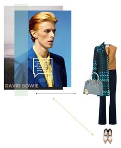 """""""HERO - DAVID BOWIE"""" by nicolesynth ❤ liked on Polyvore featuring Manning Cartell, 3.1 Phillip Lim, Maison Margiela, P.A.R.O.S.H., Prada, Movado, women's clothing, women's fashion, women and female"""
