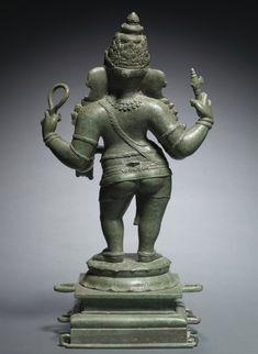 Ganesha, the god of wealth and abundance, is an auspicious and revered Hindu deity. Numerous myths explain how Ganesha became an elephant-man Buddha Sculpture, Sculpture Art, Sculptures, Shri Ganesh Images, Ganesha Art, Chola Dynasty, Hindu Deities, Hinduism, Indian Symbols