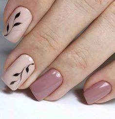 sencillo ideas manicure sencillo y elegante simple and elegant manicure ideas to Cute Acrylic Nails, Acrylic Nail Designs, Cute Nails, Nail Art Designs, French Manicure Gel Nails, Manicure E Pedicure, Manicure Ideas, Pink Nails, My Nails