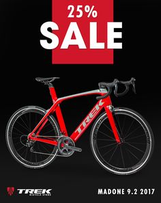 SPECIAL OFFER! MADONE 9.2 2017 25% OFF! - 600 Series OCLV Carbon, KVF (Kammtail Virtual Foil) tube shape, Madone IsoSpeed, Micro-adjust seatmast, E2 tapered head tube, BB90, invisible cable routing, control center, precision water bottle placement, Aero 3S chain keeper, DuoTrap S compatible - Fork: Madone KVF full carbon, carbon E2 steerer, carbon dropouts, integrated brake - Wheels: Bontrager Aeolus Comp Tubeless Ready Offer good while supplies last. #bicyclehobbies  #bikeaccessories…