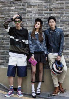 """Style Log"" Nana, Hong Jong Hyun and Jo Min Ho Strike a Pose"