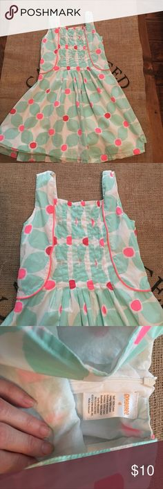 Gymboree dress size 6 excellent condition! Gymboree dress size 6 excellent condition! Smoke free home. Ship same day! Apple Pay only please! Happy poshing! 😊 Gymboree Dresses Casual