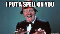 I put a spell on you, funny meme picture best humor website…