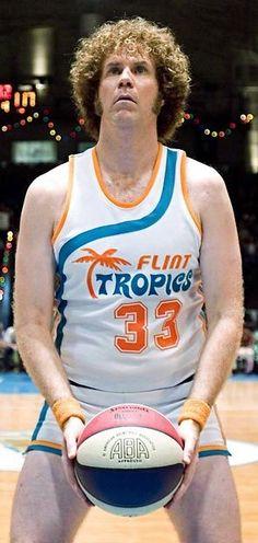 Will Ferrell as Jackie Moon in Semi Pro.