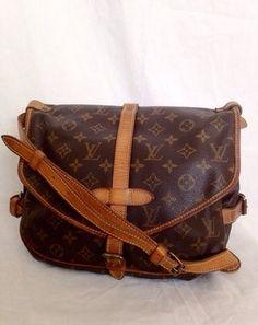 Louis Vuitton Saumur Lv Saumur Samur Cross Body Bag