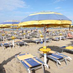 Yellow & blue, Roman seaside
